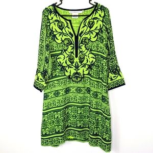 Gretchen Scott Green Henna Heaven Dress L